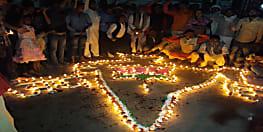 नवादा में भाजपा कार्यकर्ताओं ने मनाई दीवाली, कमल ज्योति अभियान के तहत जलाया दीप