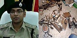 मुंगेर पुलिस को मिली बड़ी कामयाबी, छापेमारी में 4 मिनीगन फैक्ट्री का किया भंडाफोड़ 4 गिरफ्तार