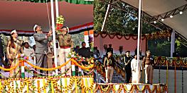 71वां गणतंत्र दिवस आज, राज्यपाल द्रोपदी मुर्मू और सीएम हेमंत सोरेन ने फहराया तिरंगा