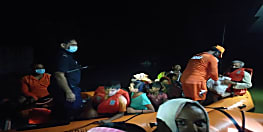 गोपालगंज में एनडीआरएफ की टीम का गुड वर्क, बाढ़ में फंसे 31 लोगों को बचाया