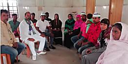नवादा विस से रालोसपा उम्मीदवार धीरेंद्र कुमार ने किया जनसंपर्क, कहा- हम शिक्षा, स्वास्थ्य और कृषि के क्षेत्र में करेंगे बेहतर काम