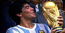 फुटबॉल के महान खिलाड़ी माराडोना का निधन, 1986 में अर्जेटीना को बनाया था विश्व विजेता