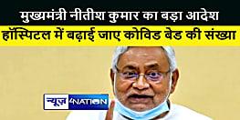 CM नीतीश का बड़ा आदेश, सभी सरकारी-निजी हॉस्पिटल में बढ़ाई जाए कोविड बेड की संख्या