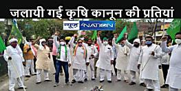 BIHAR NEWS: राजद कार्यकर्ताओं ने मनाया प्रतिरोध दिवस, कई जगहों पर जलायी कृषि कानूनों की प्रतियां