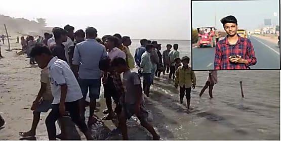गंगा नदी में डूबने से युवक की हुई मौत, चार की लोगों ने बचाई जान