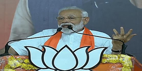 PM मोदी बोले- लोकसभा चुनाव में 300 सीट जीतने की बात कहता था तो उड़ाते थे मजाक