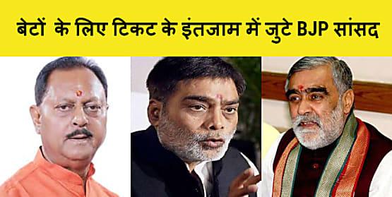 पिता गए लोकसभा,अब पुत्रों के लिए विधानसभा का टिकट के इंतजाम में जुटे बिहार BJP के कई सांसद