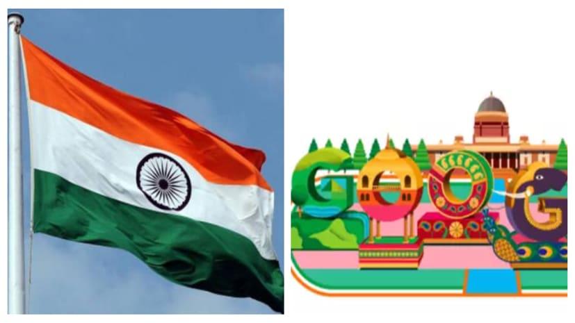 गूगल ने जैसा रिपब्लिक डे मनाया है, उसमें देश की अलग ही झलक है, तस्वीर देखिए