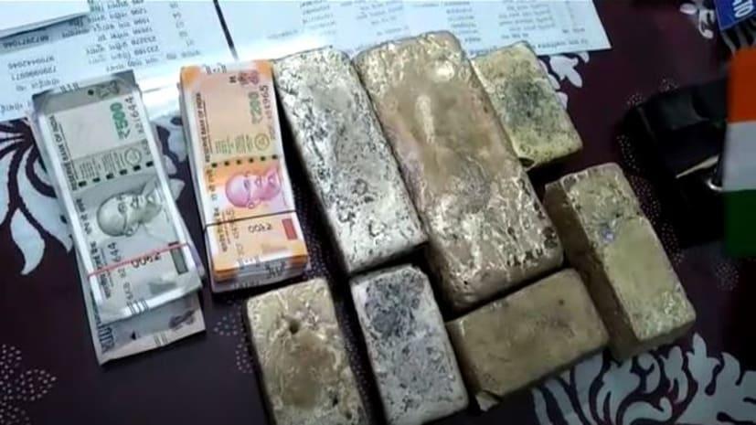 रेल पुलिस ने छह लाख की चांदी और 1.1 लाख नकदी किया जब्त, एक गिरफ्तार