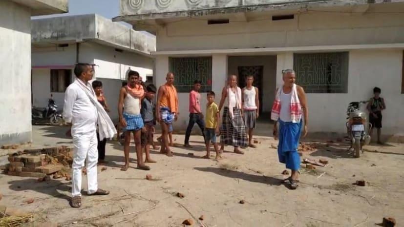 नालंदा में चुनावी रंजिश: जदयू नेता के घर पर बदमाशों ने बोला हमला