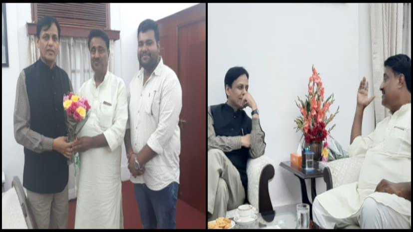 बीजेपी से पींगे बढ़ा रहे पूर्व मंत्री अजीत कुमार, दिल्ली में नित्यानंद राय से की मुलाकात