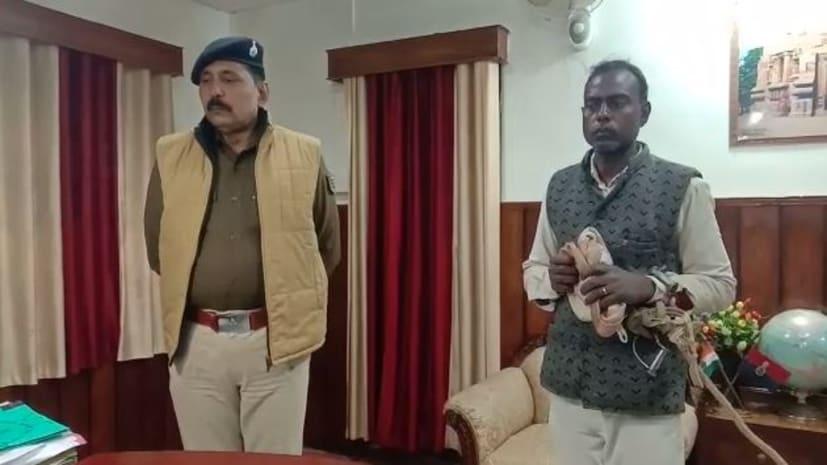 पुलिस की गिरफ्त में आया 15 सालों से फरार कुख्यात अपराधी 'छोटू राम'