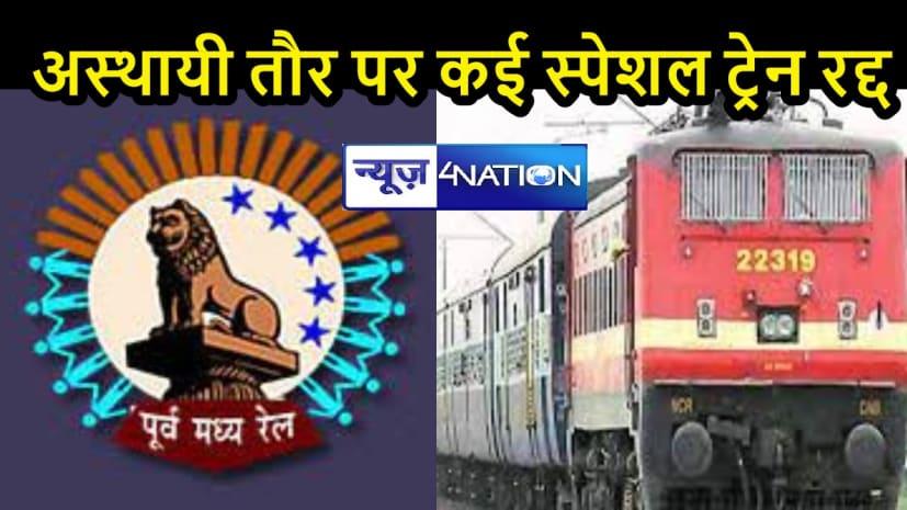 IMPORTANT NEWS: चक्रवात 'यास' के मद्देनजर कुछ स्पेशल ट्रेनों का परिचालन अस्थायी तौर पर रद्द