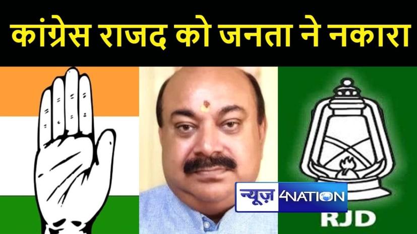 बीजेपी का कांग्रेस- राजद पर हमलाः दोहरी नीति व चरित्र के चलते ही जनता ने देश भर में नकार दिया