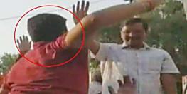 दिल्ली के मुख्यमंत्री अरविंद केजरीवाल को युवक ने मारा थप्पड़,आरोपी से पुछताछ जारी