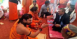 कैमूर पहुँचकर अध्यात्म के रंग में रंग गए डीजीपी गुप्तेश्वर पाण्डेय, पढ़िए पूरी खबर