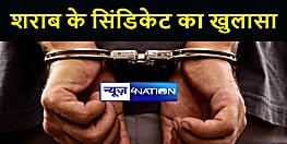 मुजफ्फरपुर में शराब के बड़े सिंडिकेट का खुलासा, पुलिस ने छः को किया गिरफ्तार