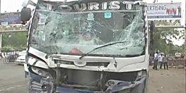 दर्दनाक हादसा: बस और ऑटो में जबरदस्त टक्कर, 8 वर्षीय बच्चे की मौत