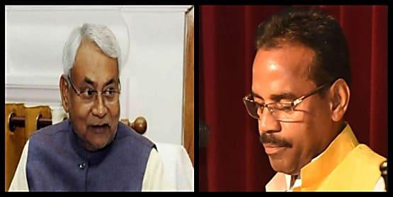 नीतीश कैबिनेट के एक मंत्री विभाग बदले जाने से हुए नाराज, आज CM से कर सकते हैं मुलाकात