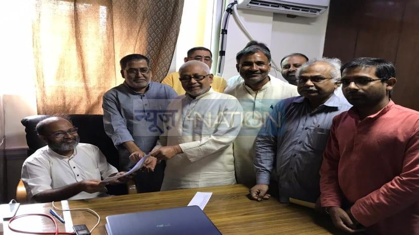 CM नीतीश दूसरी बार बनेंगे JDU के राष्ट्रीय अध्यक्ष,  मुख्यमंत्री खुद दिल्ली कार्यालय न जाकर विशेष दूत से भिजवाया नामांकन फार्म