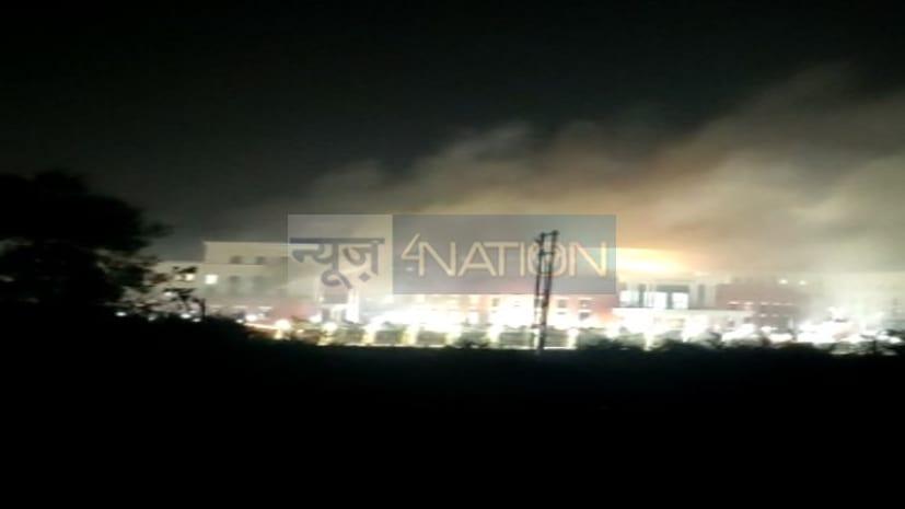 बडी खबर: विधानसभा के नये भवन में लगी भयानक आग, बुझाने का प्रयास जारी