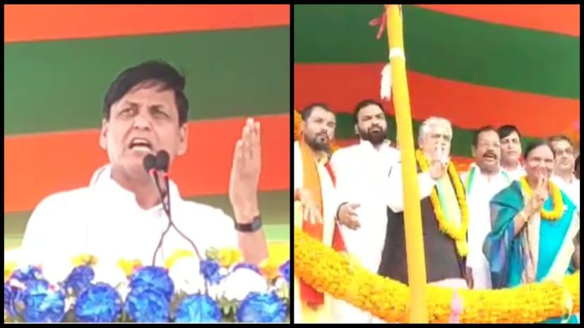 मोतीहारी में बोले नित्यानंद राय- केंद्र में फिर से मोदी सरकार बनने पर इस्लामाबाद में घुस कर मारेंगे