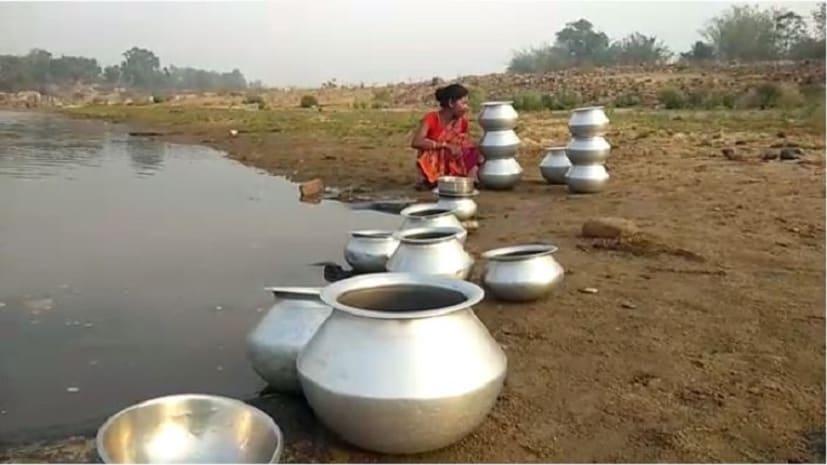 पेयजल मंत्री के गृह जिले में पीने के पानी की किल्लत, सालों से बरक़रार है समस्या