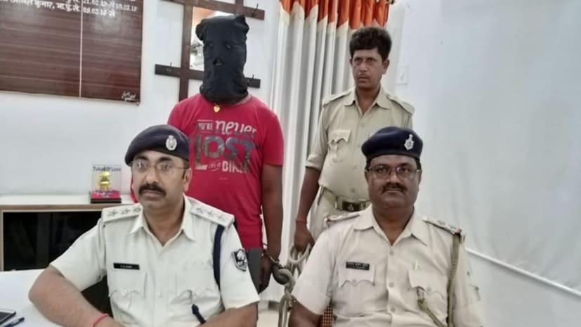 सीतामढ़ी पुलिस को मिली सफलता, कुख्यात सरोज राय के भाई राकेश राय को किया गिरफ्तार