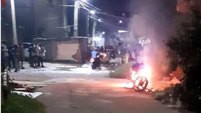 पटना में रंगदारी नहीं देने पर मछली व्यवसायी की बाइक को जलाया, नशे में धुत्त एक गिरफ्तार