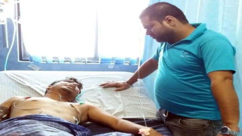 अभी-अभी : मुजफ्फरपुर में बैंक कर्मचारी से लूट, विरोध करने पर मारी गोली