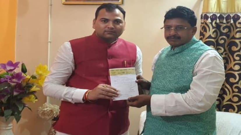 युवा जदयू नेता ओम प्रकाश सेतु बने पार्टी के प्रदेश प्रवक्ता, समर्थकों में खुशी की लहर