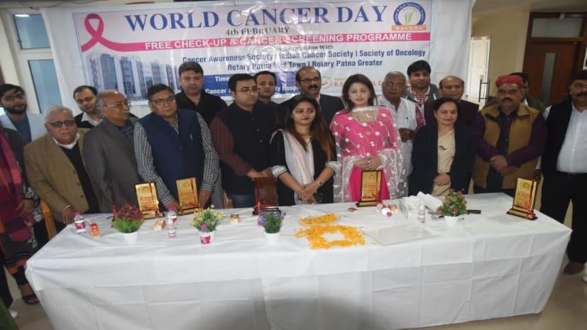 वर्ल्ड कैंसर डे पर सवेरा कैंसर एंड मल्टीस्पेशलिटी हॉस्पीटल में हुआ 500 लोगों का नि:शुल्क कैंसर जांच