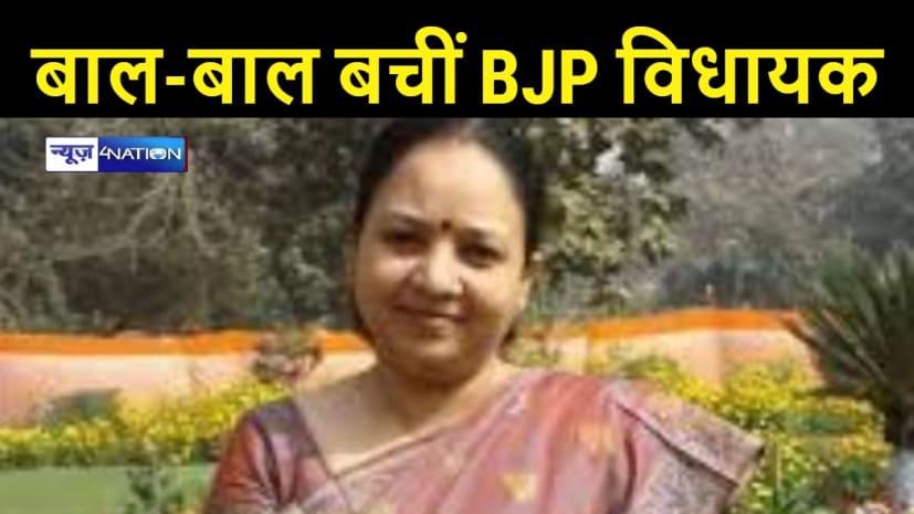 सामने से आ रही ट्रक ने भाजपा विधायक की गाड़ी में मारी टक्कर, आई गंभीर चोटें