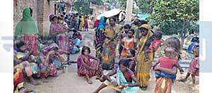ठेकेदारों की पिटाई से घायल मजदूर की इलाज के दौरान मौत, आक्रोशित लोगों ने किया सड़क जाम