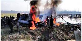 कश्मीर के बडगाम में सेना का हेलीकाप्टर क्रैश, हादसे में दो पायलट की मौत