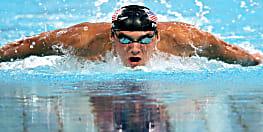 IPL का मजा लेने चुपचाप कोटला पहुंचे अमेरिकी तैराक माइकल फेल्प्स