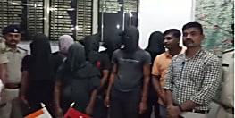 पुलिस ने जाली नोट बनाने वाले अंतर्राज्यीय गिरोह का किया पर्दाफाश, हथियार के साथ आठ गिरफ्तार