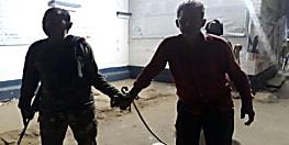 नवादा में वर्चस्व को लेकर दो गुटों में गोलीबारी, एक हथियार से साथ गिरफ्तार