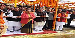बलिया से गंगा यात्रा का शुभारंभ, सुशील मोदी बोले- बिहार के कई जिलों में पाइपलाइन के जरिए पहुंचेगी गंगा