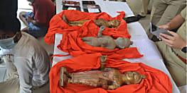 अष्टधातु की बहुमूल्य मूर्ति के साथ दस चोरों को पुलिस ने  किया गिरफ्तार, विहिप ने एसपी के प्रति जताया आभार