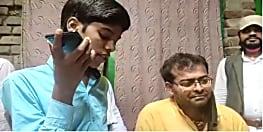 डीजीपी गुप्तेश्वर पांडे ने की बिहार टॉपर हिमांशु से फोन पर बात, कहा- बेटा कोई जरूरत हो तो बताना