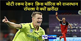 आखिर हरफनमौला क्रिस मॉरिस पर राजस्थान रॉयल्स ने क्यों लगाया इतना बड़ा दांव ?