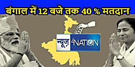 बंगाल में 12 बजे तक 40 % मतदान, असम अभी है बहुत पीछे
