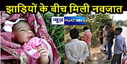 BIHAR NEWS: कलयुगी मां ने नवजात को झाड़ी में फेंका, आसपास के लोगों की सतर्कता से बची जान
