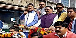 कांग्रेस के रोड शो में अनंत सिंह, कहा-मोदी और नीतीश को हटाना