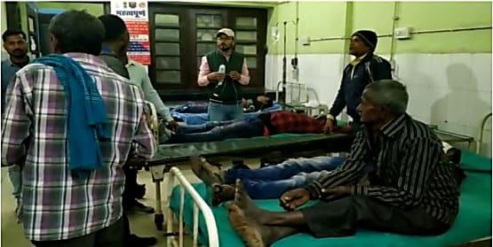 बड़ी खबर : नालंदा में गैस टैंकर और पिकअप में सीधी भिड़ंत, 2 की मौत 14 गंभीर रुप से घायल