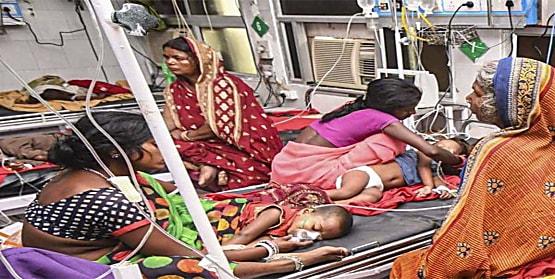 कोरोना क्या कम था अब चमकी फीवर ले रहा बिहार में बच्चों की जान, SKMCH में एक और बच्चे की मौत