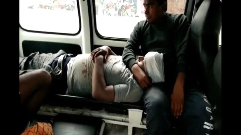अपराधियों का तांडव, दिनदहाड़े ड्राइवर को गोली मारकर लूट लिए 48 लाख रुपये