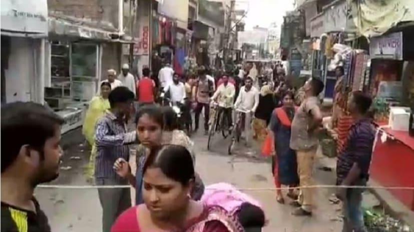 बिजली विभाग की लापरवाही : बीच बाज़ार में गिरा 11000 वोल्ट का तार, बाल-बाल बची महिला