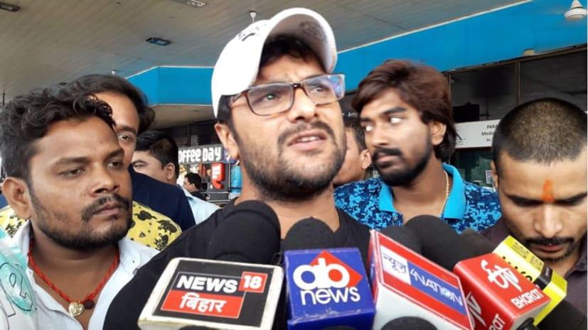 भोजपुरी फिल्म अभिनेता खेसारीलाल आज जायेंगे सीतामढ़ी, बाढ़ पीड़ितों से करेंगे मुलाकात